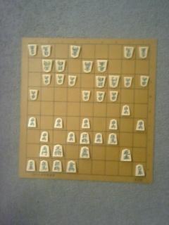 櫛田陽一六段との師弟戦