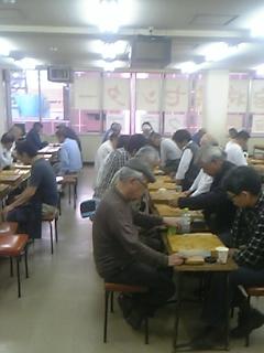 新宿将棋センターで指導対局