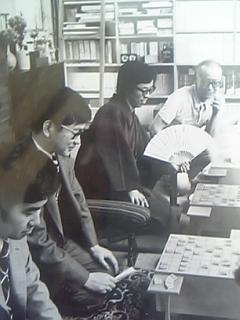 山口瞳邸での優雅な将棋会
