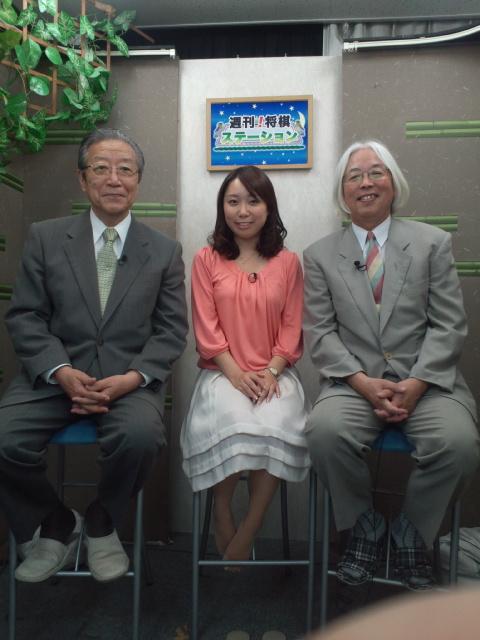 田丸が『週刊!将棋ステーション』の番組で40<br />  年間の棋士生活を語る