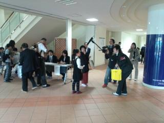 森内名人、深浦康市九段らの棋士も受検した10<br />  月21日の「将棋文化検定」