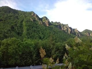 北海道・層雲峡での王位戦(<br />  羽生王位―行方八段)<br />  第3局で行方が初勝利