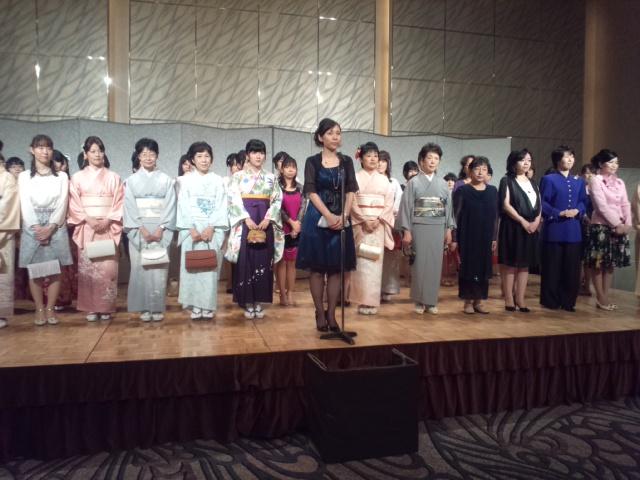 盛大に開催された女流棋士発足4<br />  0周年記念パーティー