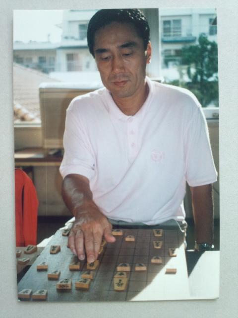 直木賞を『破門』で受賞した作家の黒川博行さんは熱心な将棋愛好家