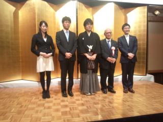 1月19日に開催された糸谷哲郎・新竜王の就位式