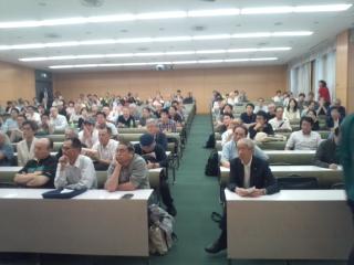 今年10月に実施された第3回将棋文化検定の東京・立教大学での模様