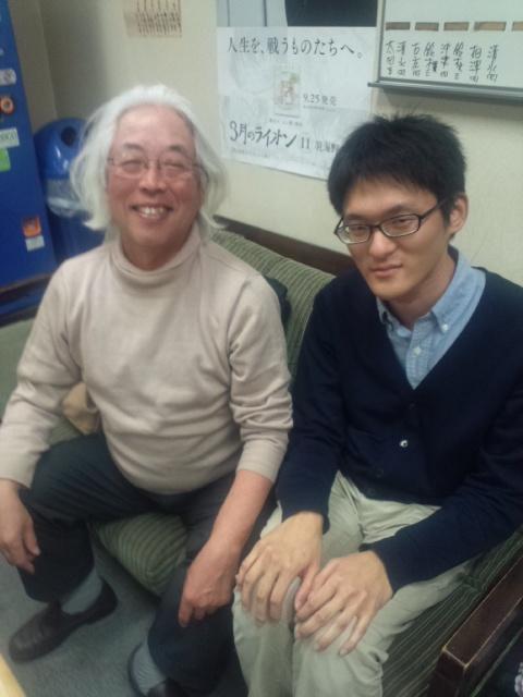 田丸の弟子の井出隼平三段が最終日の時点で確率が1%弱の状況で奇跡の四段昇段