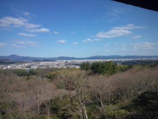 3月に京都の南禅寺、大覚寺、嵯峨野などを観光